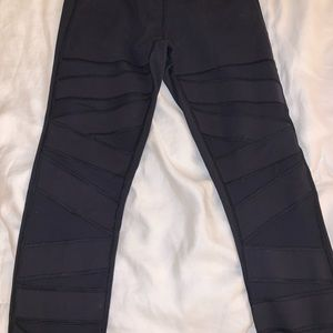 Lululemon wonder under leggings- black, sz. 6